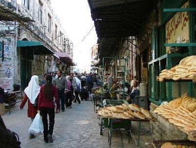 Nablus OC market